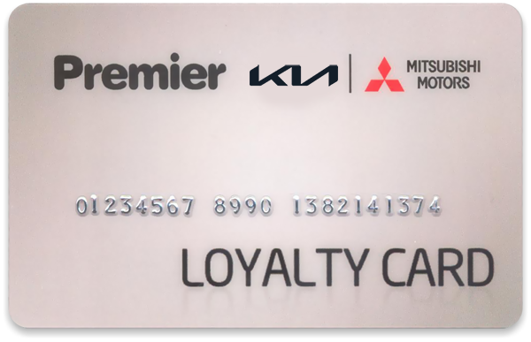 Premier Loyalty Card at Premier Car